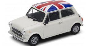 Mini Cooper 1300 UK vlag 1/34 Welly