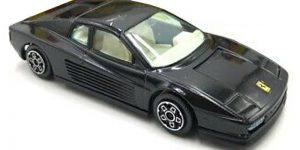 Ferrari Testarossa (1984) Zwart 1/43 Bburago