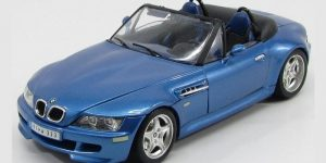 1996 BMW M Roadster Blauw 1/18 Bburago