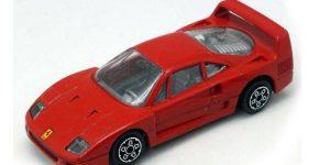 Ferrari F40 (1987) Rood 1/43 Bburago