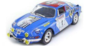 Renault Alpine A110 1600S (Blauw) 1/18 Bburago