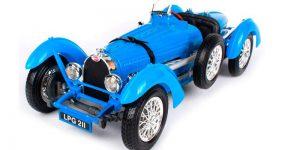 Bugatti Type 59 (1934) Blauw 1/18 Bburago