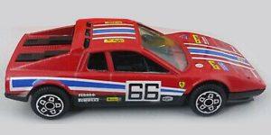 Ferrari 512 BB Daytona Rood 1/43 Bburago