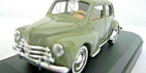 1954 Renault 4cv Groen 1/43 Solido
