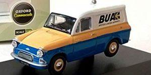 "Ford Anglia Van ""British United Airways"" 1/43 Oxford Roadshow"