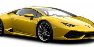 Lamborghini Huracan LP 610 (Geel) 1:43 Bburago