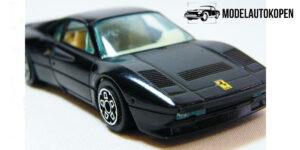 Ferrari GTO (1984) Zwart 1/43 Bburago