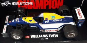 Racewagen Williams FW14 1/18 Bburago