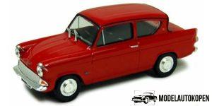 Ford Anglia MKI Rood 1/43 Cararama Oxford