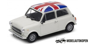 Mini Cooper 1300 UK vlag 1/34 Welly