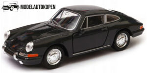 Porsche 911 Zwart 1/34 Welly