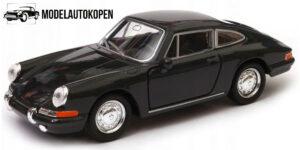 Porsche 911 Zwart 1/34 Welly