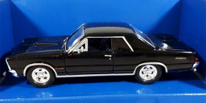 Pontiac GTO 1965 (Zwart) 1/32 Welly