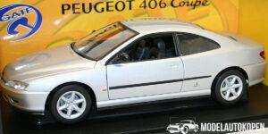 Peugeot 406 Coupé Zilver 1/18 Gate