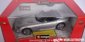 Dodge Viper SRT/10 Zilver 1/18 Bburago Diamond Collection