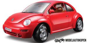 1998 Volkswagen Beetle Rood 1/18 Bburago