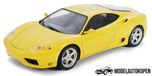 Ferrari 360 Modena Geel Bburago 1/18