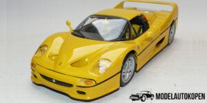 Ferrari F50 Hardtop Geel 1/18 Bburago