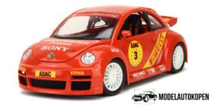 Volkswagen New Beetle Cup (Rood) 1/18 Bburago