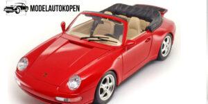 Porsche 911 Carrera Cabriolet (1994) 1/18 Bburago