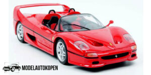 Ferrari F50 1995 Rood 1/18 Bburago