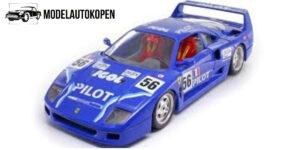 Ferrari F40 1987 Blauw - Bburago 1:18