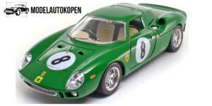 Ferrari 250 LM Nurburgring 1965 Groen 1/18 Bburago