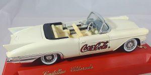 Coca-Cola Cadillac Eldorado Cabriolet 1955 (Creme) 1/43 Solido