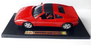 Ferrari 348ts (1990) Rood 1/18 Special Edition Maisto