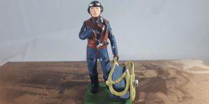 2e Wereldoorlog figuurtje (Duitse parachutist)