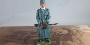 2e Wereldoorlog figuurtje (SS officier)
