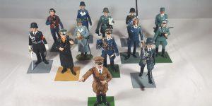 2e Wereldoorlog figuurtjes (Duits leger, 13 stuks)