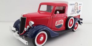 Ford Pick Up Truck Pepsi Cola 1/18 Solido