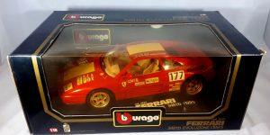 Ferrari 348 tb Evoluzione 1991 (Rood) 1/18 Bburago