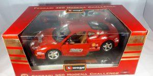Ferrari 360 Modena Challenge (Rood) 1/18 Bburago