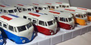 Volkswagen T1 pakket 12 stuks, meerdere kleuren 1/43 Welly