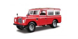 Land Rover Series II (Rood/Wit) 1/24 Bburago