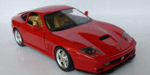 Ferrari 550 Maranello 1996 (Rood) 1/18 Bburago