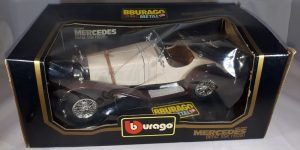 Mercedes-Benz SSK 1928 (Creme/Bruin) 1/18 Bburago
