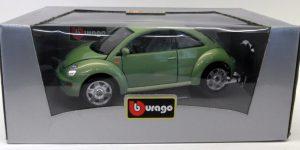 1998 Volkswagen Beetle Groen 1/18 Bburago