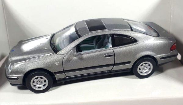 Mercedes-Benz CLK Coupé (Grijs) 1/43 Schuco