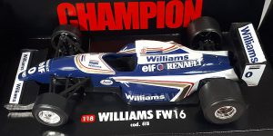 Racewagen Williams FW16 1/18 Bburago