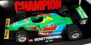 Racewagen Benetton Ford 1/18 Bburago