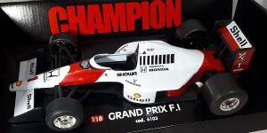 Racewagen Grand Prix F.I 1/18 Bburago