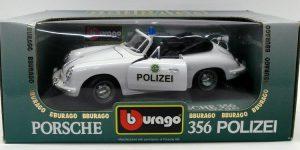 Porsche 356 Polizei 1/18 Bburago