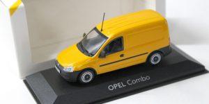 Opel Combo Dealermodel Geel 1/43