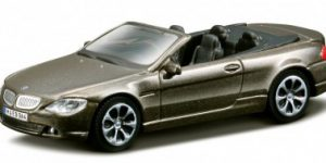 BMW 645 CI (Donkergrijs) 1:43 Bburago