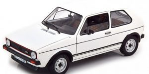 Volkswagen Golf GTI 1976 (Wit) 1/43 Atlas