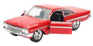Chevrolet Impala Fast & Furious (Rood) 1/32 Jada