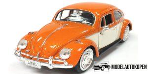 Volkswagen Kever (Oranje/Wit) 1/24 Motor Max
